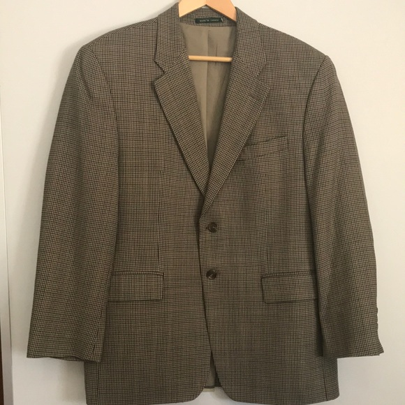 Vintage Ralph Lauren Jacket Blazer Houndstooth